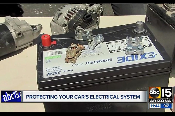 Extreme Heat & Your Auto's Electrical System