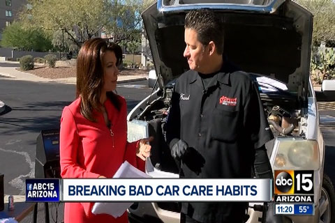 Break Car Care Bad Habits